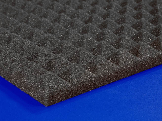One Inch Soundproofing Acoustical Pyramid Foam Foam By Mail