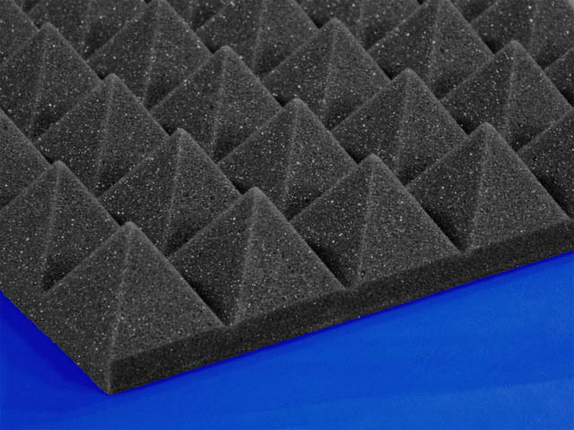 Two Inch Soundproofing Acoustical Pyramid Foam Foam By Mail