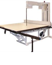 Vertical Foam Cutting Machine Foam By Mail