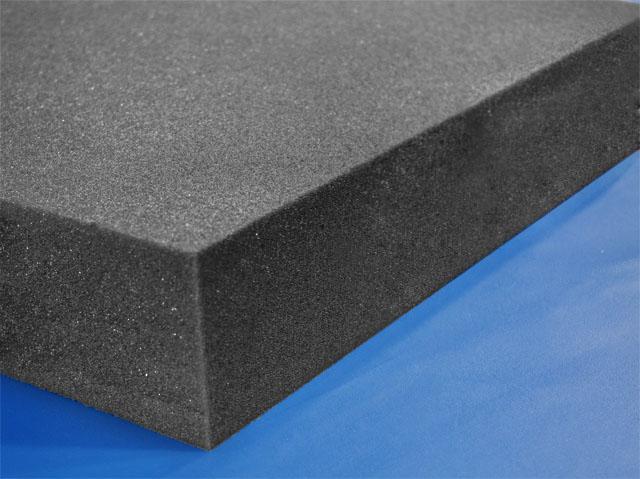 Solid Charcoal Foam Base Foam By Mail