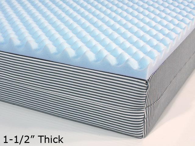 Buy Egg Crate Mattress Pads | FoamFactory Inc.