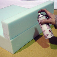 How To Glue Foam Together Foam By Mail
