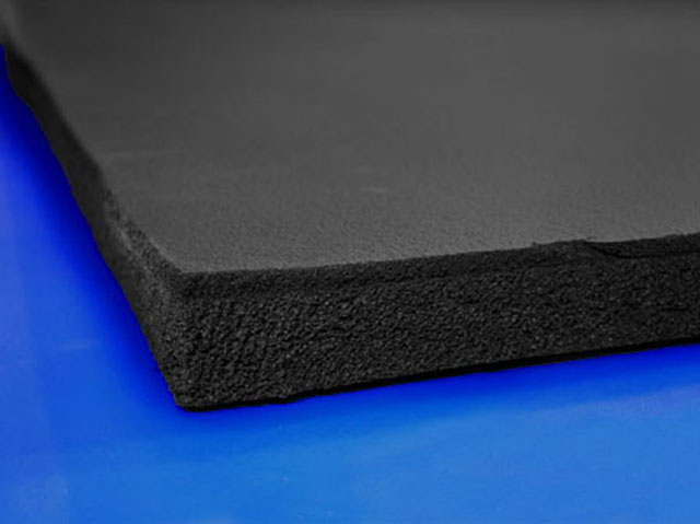 Gym Rubber Rubber Flooring Closed Cell Foam Exercise Mat