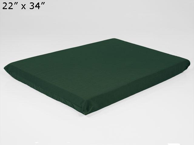 Twill Dog Bed In Solid Memory Foam Foam Factory Inc