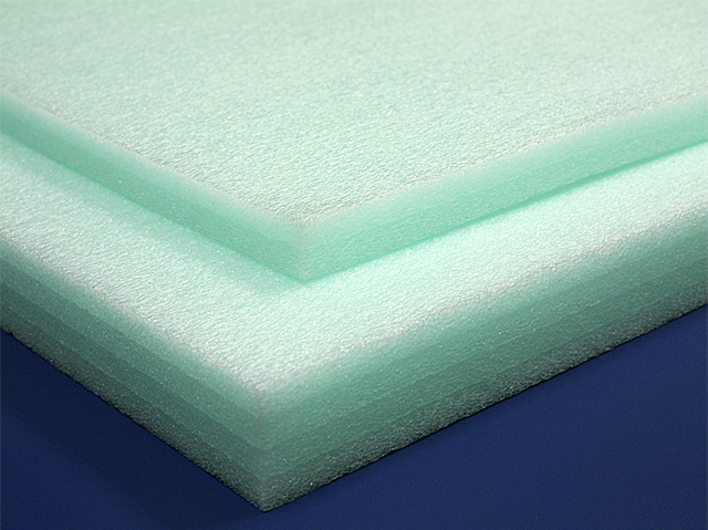 Polyethylene Foam Sheets 1 2lb Green Foam By Mail
