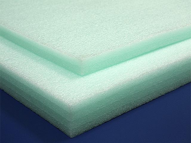 Polyethylene Foam Sheets 1 2lb Green Foam Factory Inc