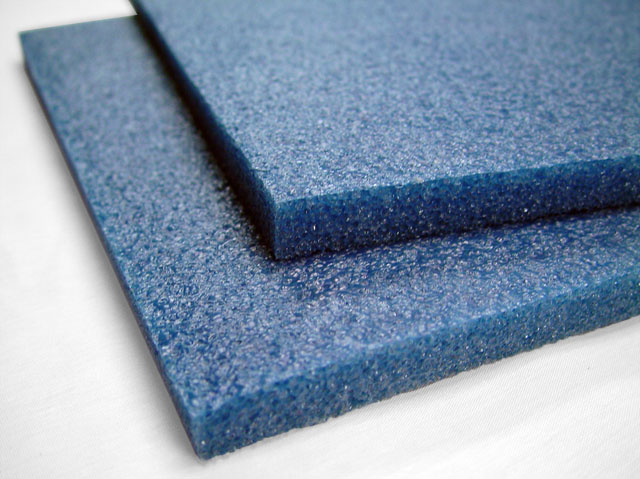 Polyethylene Foam Sheets 1 7lb Blue Foam By Mail