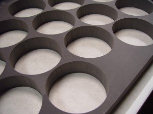 Waterjet-Cut XLPE Foam