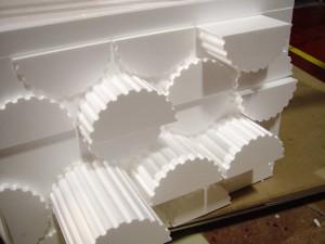 Custom Polystyrene Foam Columns