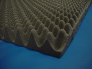 2-1/2 Inch Acoustical Eggcrate Sheet