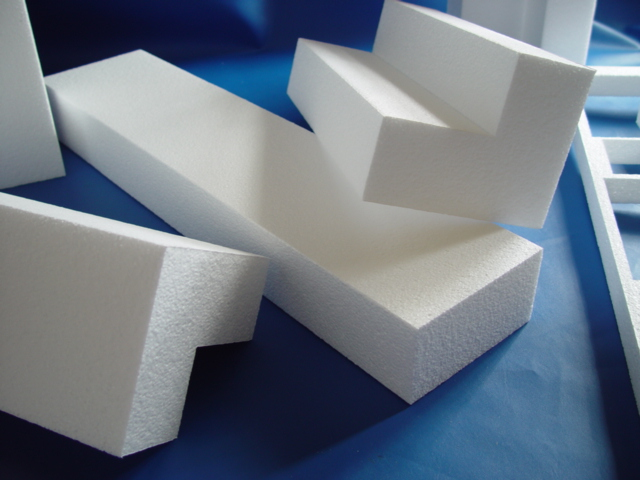 Turn your home ideas into reality with custom cut eps foam for Foam block homes
