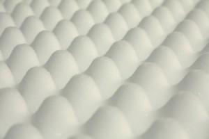 Convoluted/Eggcrate Memory Foam