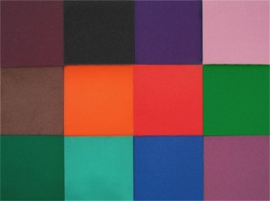 Open-Cell Foam Colors