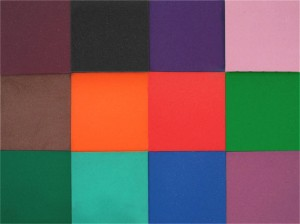 Colored Open-Cell Foam For Pommel and Thrusting Tips