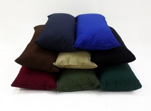 Twill Body Pillow Color Range