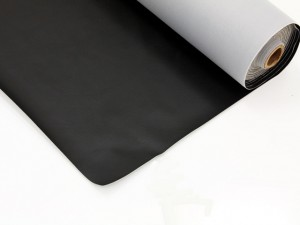 Durable Black Vinyl For Rail Coverings