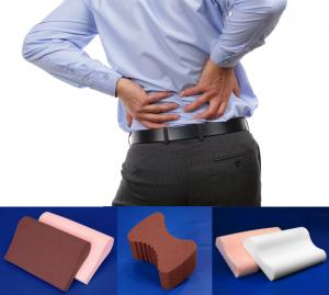 back pain foam pillows sleep