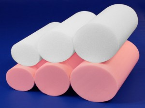 Open-cell poly and memory foam body bolsters