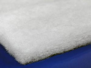 Dacron fiberfill helps create a plush, soft seat