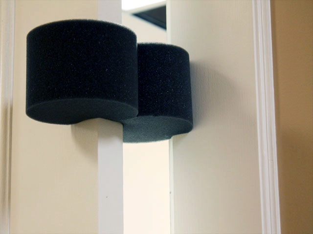 Open-Cell Charcoal Foam Door Stopper & Smart Simple Ways to Stay Safe in Your Home \u2013 The Foam Factory