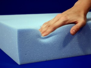 Lux High Quality is a firm foam, great for supportive seat cushions
