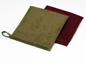 Suede Chair Pads With Handle
