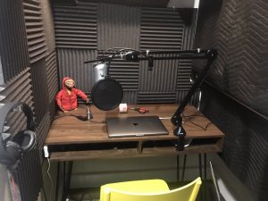 podcast studio