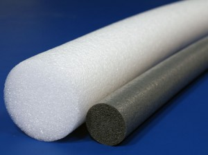 Large and small polyethylene rollers