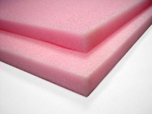Pink Anti-Static Polyethylene Foam